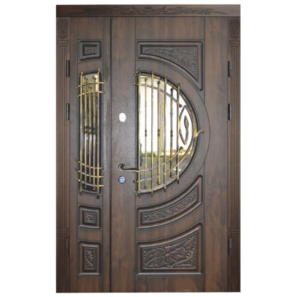 Двері з МДФ накаладкими модель 12