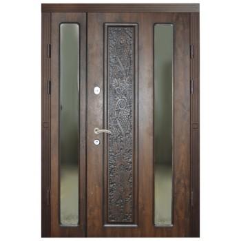 Двері з МДФ накаладкими модель 13