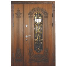 Двері з МДФ накаладкими модель 15