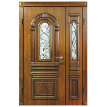 Двері з МДФ накаладкими модель 16