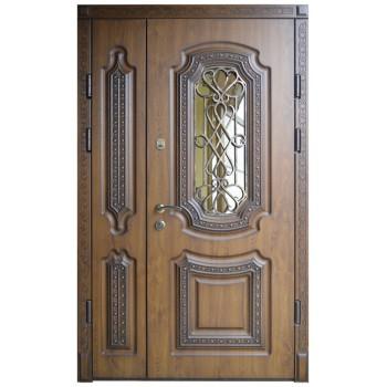 Двері з МДФ накаладкими модель 17