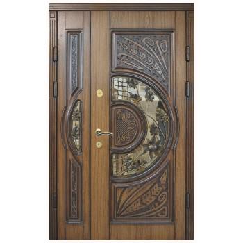 Двері з МДФ накаладкими модель 24+