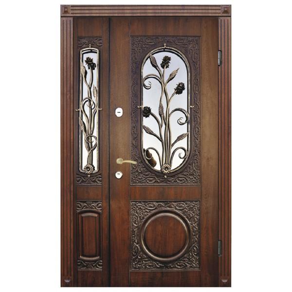 Двері з МДФ накаладкими модель 26