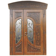 Двері з МДФ накаладкими модель 29