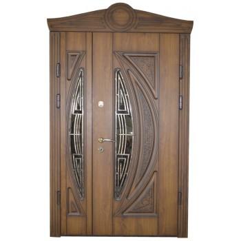 Двері з МДФ накаладкими модель3
