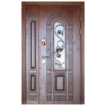 Двері з МДФ накаладкими модель 32