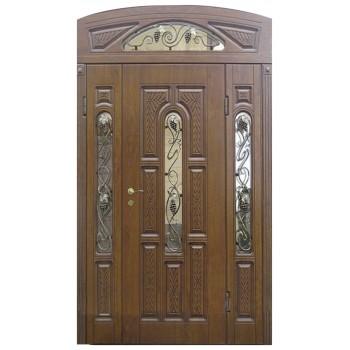 Двері з МДФ накаладкими модель 4