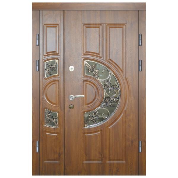 Двері з МДФ накаладкими модель 9