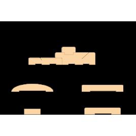 Коробка 100 мм МДФ