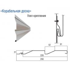 """Сайдинг металлический """"Корабельная доска"""""""
