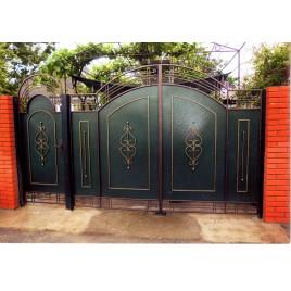 кованые ворота №1