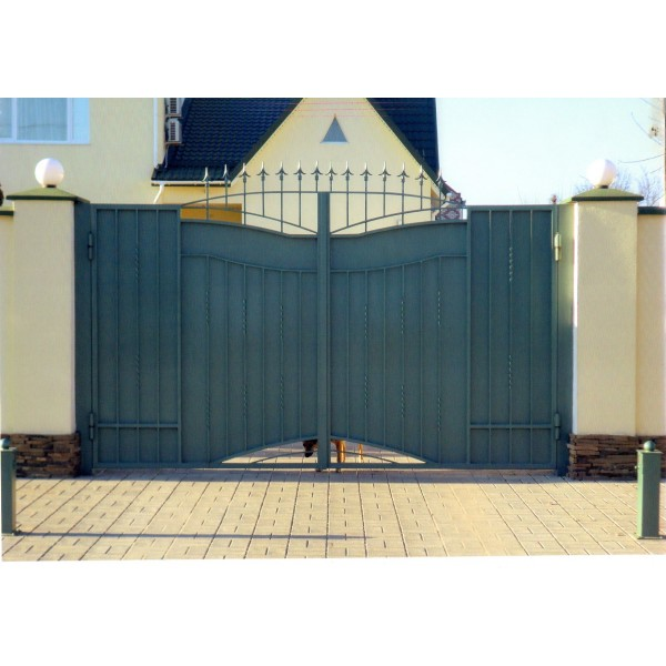кованые ворота №10