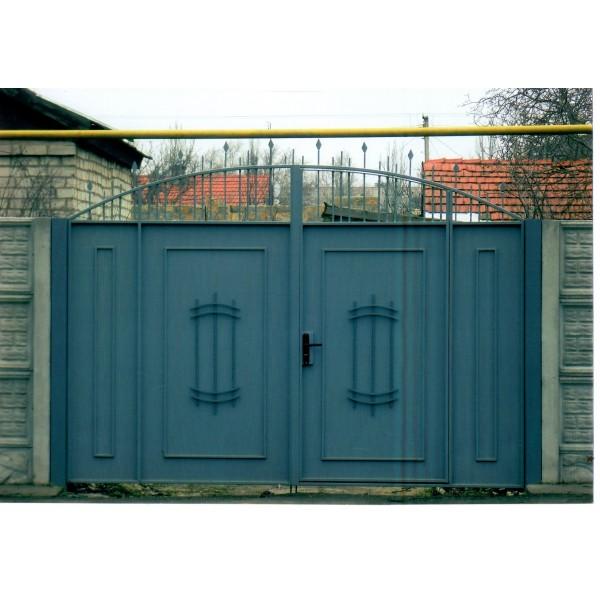 кованые ворота №11
