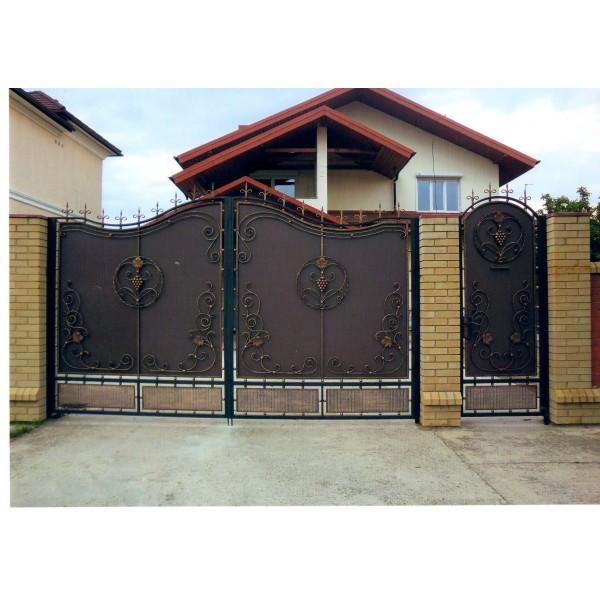 кованые ворота №22