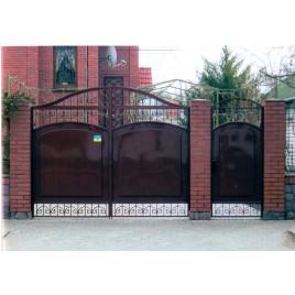 кованые ворота №18