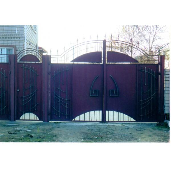 кованые ворота №19