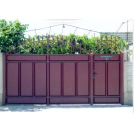 кованые ворота №21