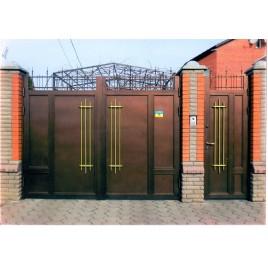 кованые ворота №23
