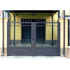 кованые ворота №24