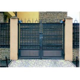кованые ворота №27