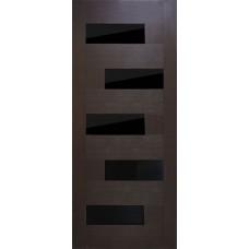 Дверь межкомнатная Домино ЧС ПВХ