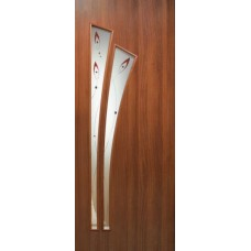Дверь межкомнатная ПВХ Пальма СС+КР